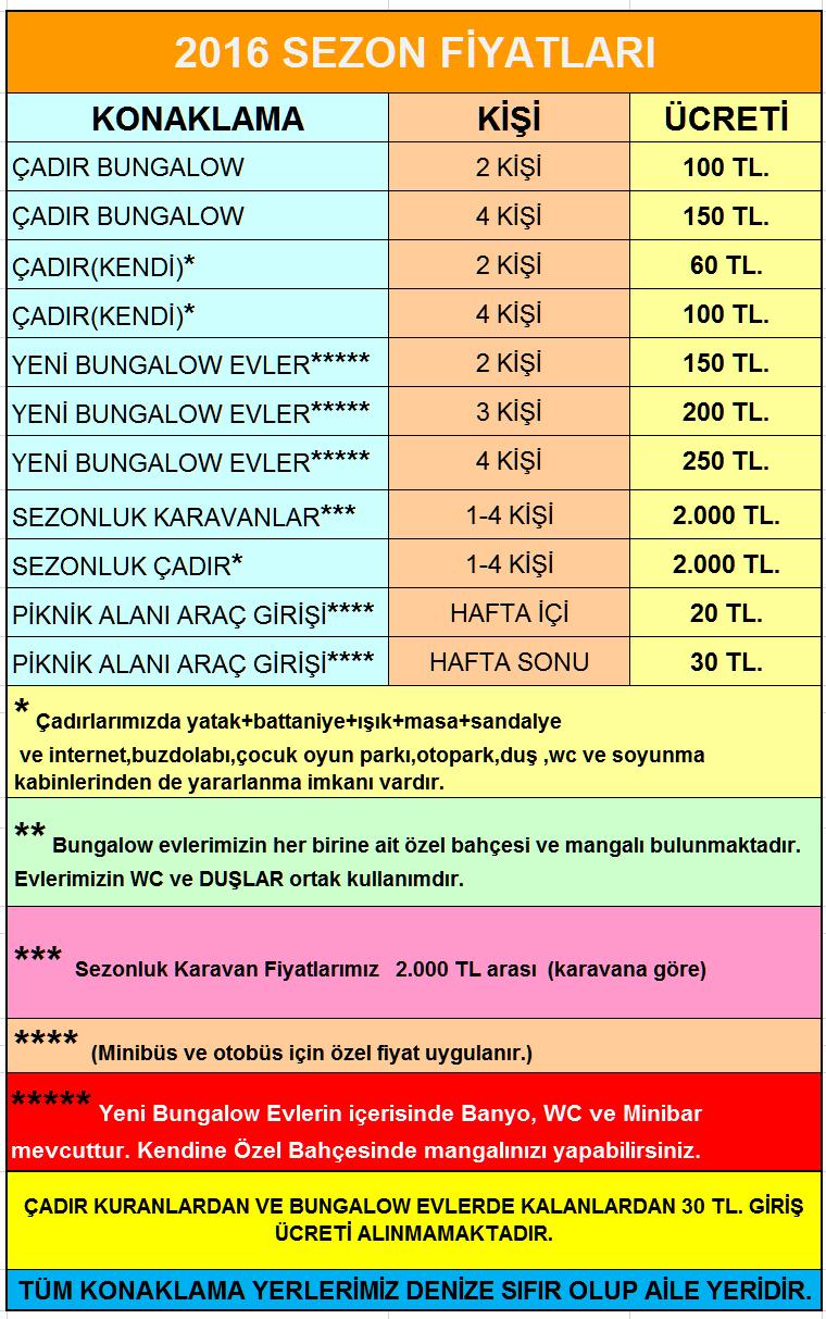 Ağva Çadır Kamp Uygun Fiyat